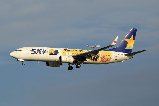 BC/SKY/スカイマーク BC12 B737-800 JA73NR
