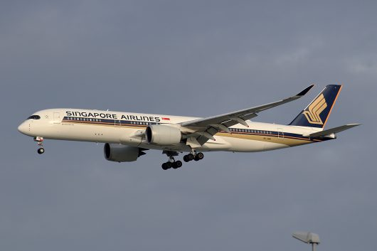 SQ/SIA/シンガポール航空 SQ632 A350-900 9V-SMB