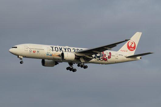 JL/JAL/日本航空 JL908 B777-200 JA773J
