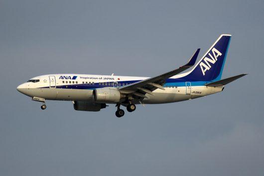 NH/ANA/全日空 NH1102 B737-700 JA06AN