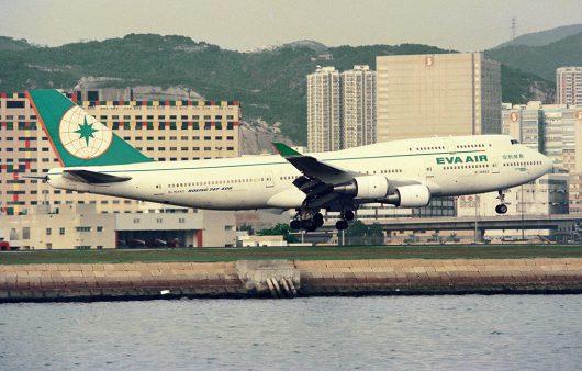 BR/EVA/エバー航空 B747-400 B-16463