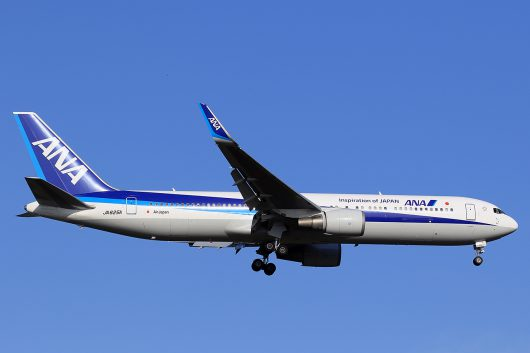 NH/ANA/全日空 NH934 B767-300ER JA625A