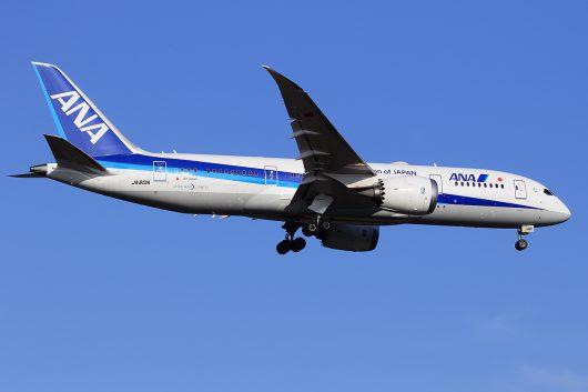 NH/ANA/全日空 NH824 B787-8 JA801A