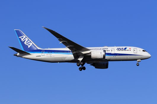NH/ANA/全日空 NH834 B787-8 JA829A
