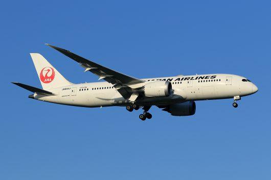 JL/JAL/日本航空 JL670 B787-8 JA844J