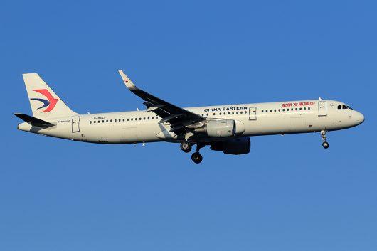MU/CES/中国東方航空 MU521 A321 B-8861