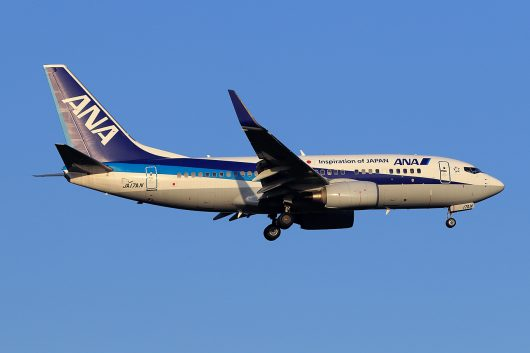 NH/ANA/全日空 NH494 B737-700 JA17AN