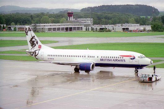 BA B737-400