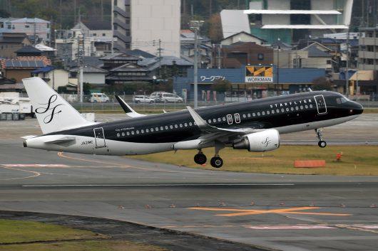 7G/SFJ/スターフライヤー 7G46 A320 JA21MC