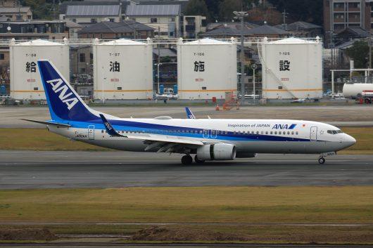 NH/ANA/全日空 NH1203 B737-800 JA90AN