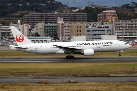 JL/JAL/日本航空 JL314 B777-200 JA772J