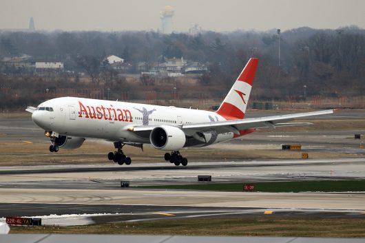 OS/AUA/オーストリア航空 OS87 B777-200ER OE-LPF