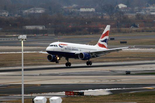 BA/BAW/ブリティッシュ・エアウェイズ BA1 A318 G-EUNA