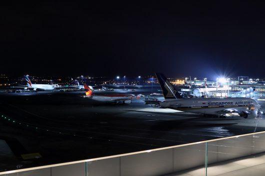 NYC JFK夜景