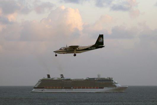 //St. Maarten Airways  BN-2A Islander PJ-SAB