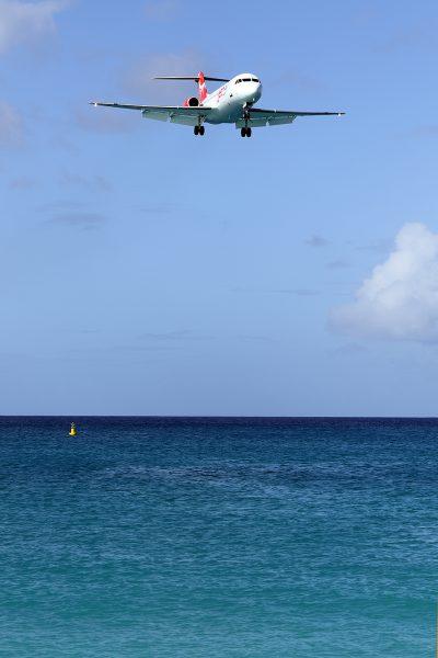 JetAir Caribbean  Fokker 70  PJ-JAC