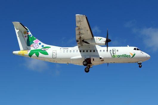 3S/GUY /エアーアンティル WM804 ATR42-500 F-OIXD