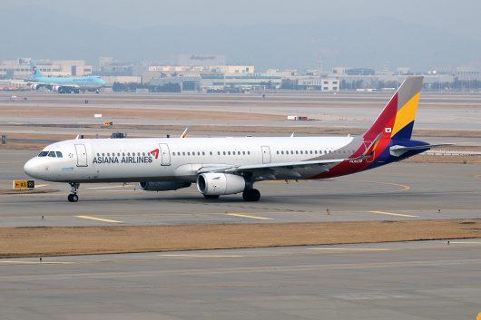 OZ/AAR/アシアナ航空 OZ349 A321 HL8039