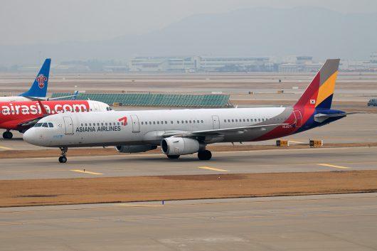 OZ/AAR/アシアナ航空 OZ121 A321 HL8277