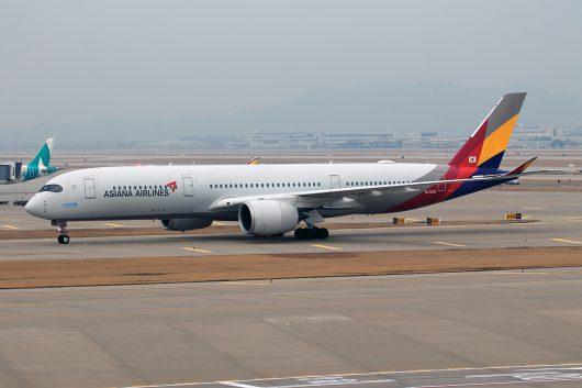 OZ/AAR/アシアナ航空 OZ502 A350-900 HL7578