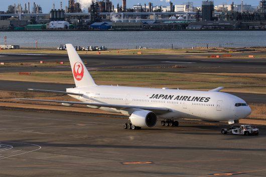 JL/JAL/日本航空 JL505 B777-200 JA009D
