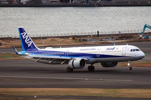 NH/ANA/全日空 NH452 A321Neo JA134A