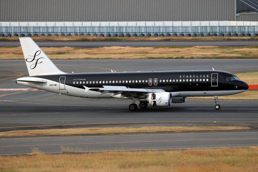 7G/SFJ/スターフライヤー 7G72 A320 JA07MC