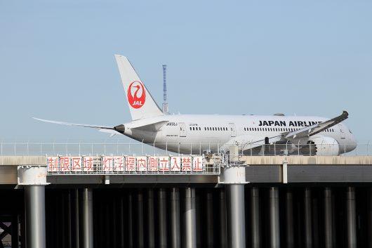 JL/JAL/日本航空 JL87 B787-8 JA832J