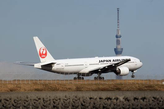 JL/JAL/日本航空 JL313 B777-200 JA8977