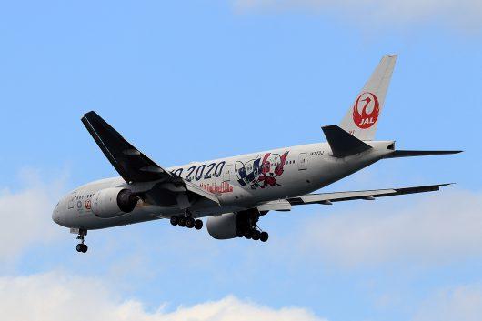 JL/JAL/日本航空 JL502 B777-200 JA773J