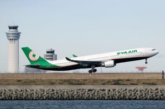 BR/EVA/エバー航空 BR169 A330-300 B-16337