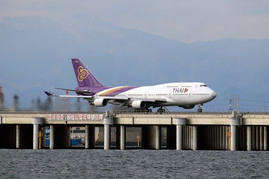 TG/THA/タイ国際航空 B747-400 HS-TGA