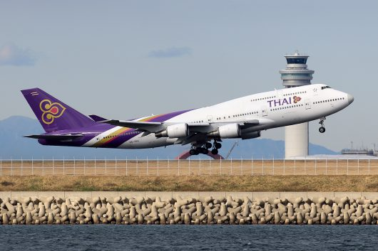 TG/THA/タイ国際航空 TG683 B747-400 HS-TGA