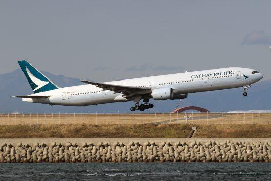 CX/CPA/キャセイパシフィック航空 CX543 B777-300 B-HNU