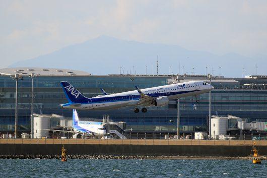 NH/ANA/全日空 NH741 A321Neo JA134A