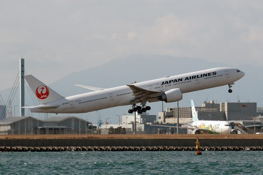 JL/JAL/日本航空 JL43 B777-300ER JA740J