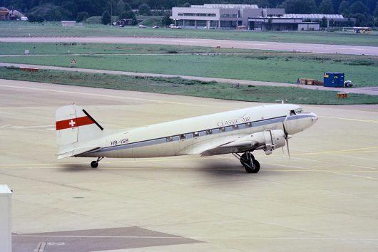 Classic Air DC3 HB-ISB