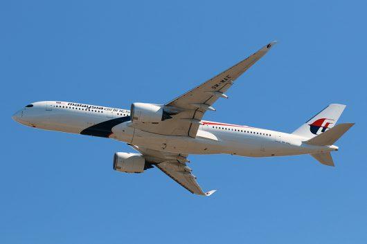 MH/MAS/マレーシア航空 MH89 A350-900 9M-MAE