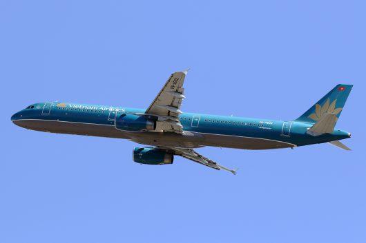 VN/HVN/ベトナム航空 VN319 A321 VN-A602