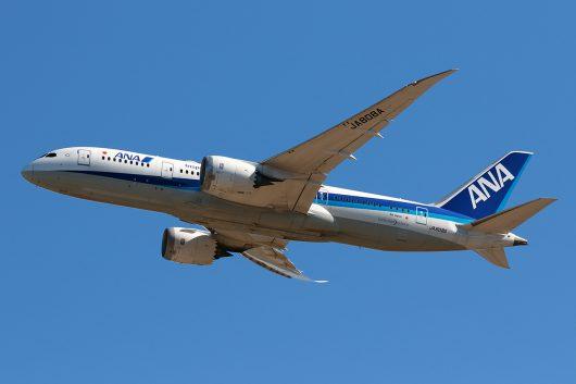 NH/ANA/全日空 NH817 B787-8 JA808A