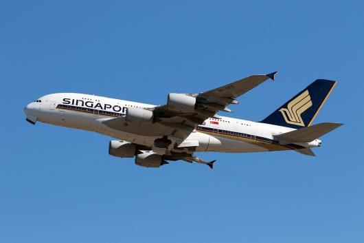 SQ/SIA/シンガポール航空 SQ637 A380 9V-SKS