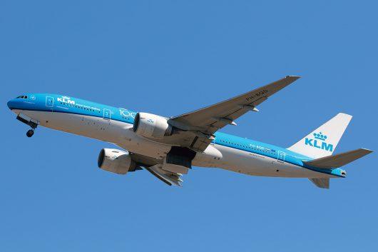 KL/KLM/KLMオランダ航空 KL862 B777-200ER PH-BQD