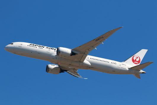 JL/JAL/日本航空 JL749 B787-9 JA871J