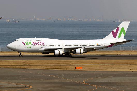 EB/PLM/Wamos Air EB470 B747-400 EC-KXN