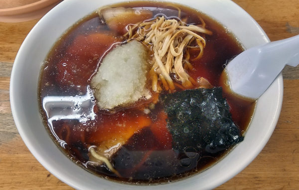 竹岡式ラーメン「寿」のチャーシュー麺