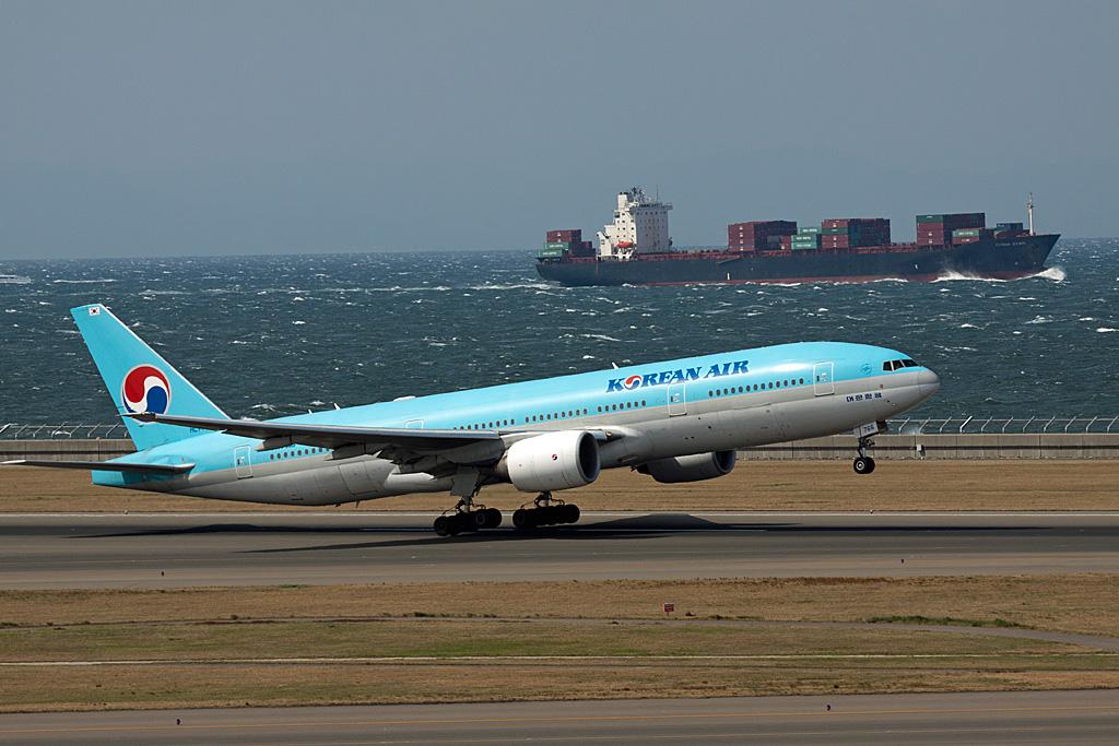 KE/KAL/大韓航空 B777-200 HL7766