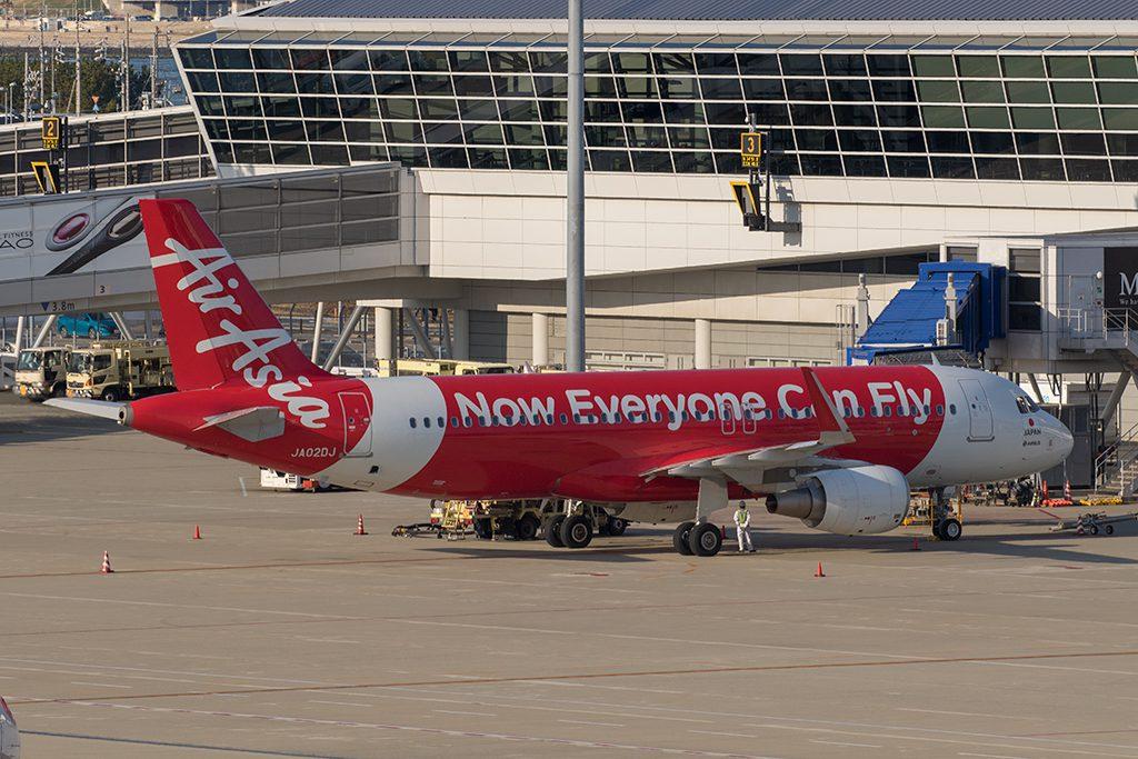 AirAsia Japanの2号機 JA02DJ