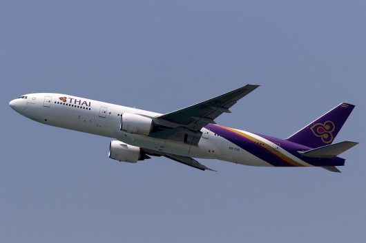 TG/THA/タイ国際航空 TG685 B777-200ER HS-TJS