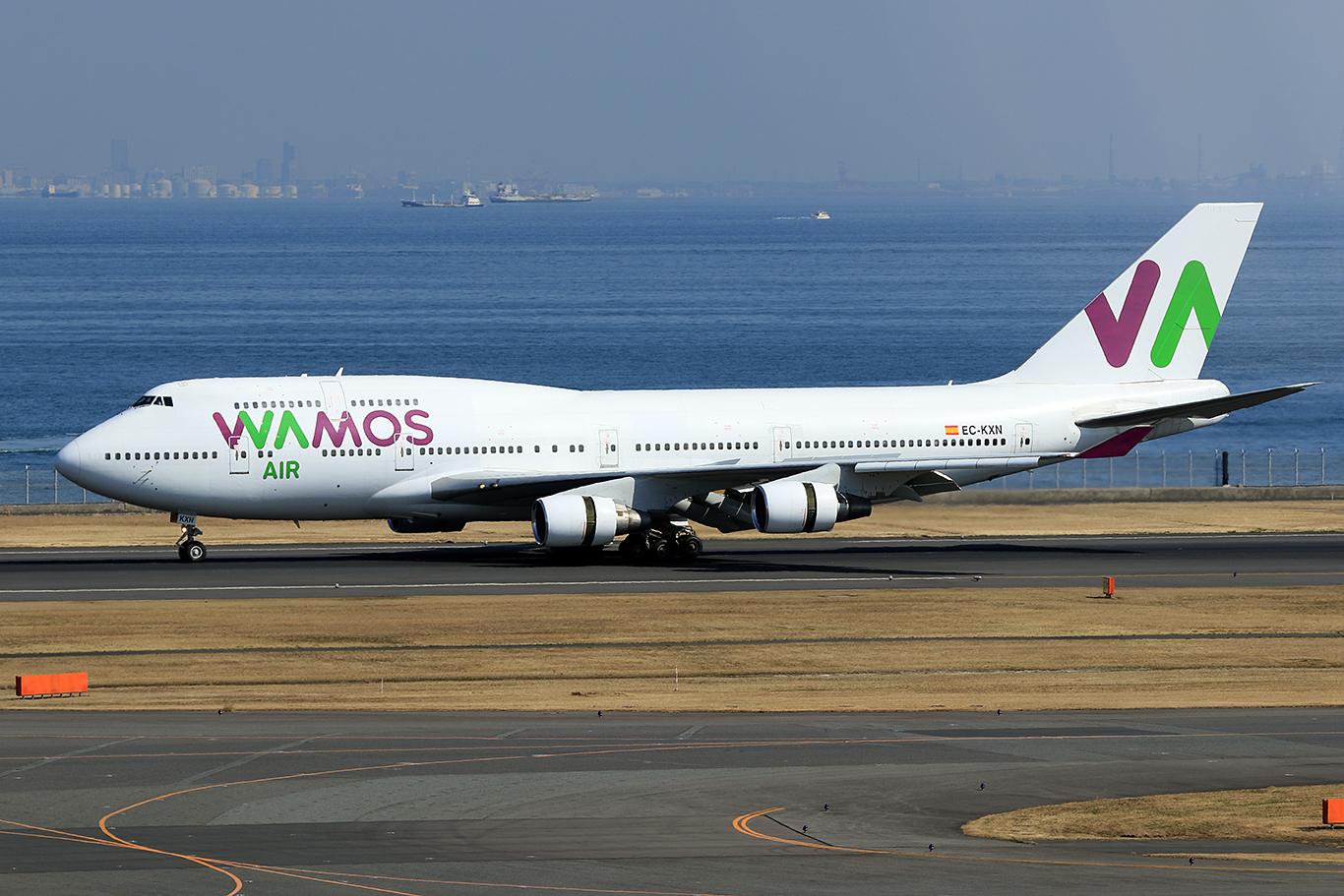 EB / PLM/Wamos Air EB470 B747-400 EC-KXN