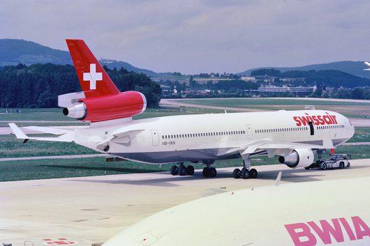 SR/SWR/Swissair HB-IWN MD-11